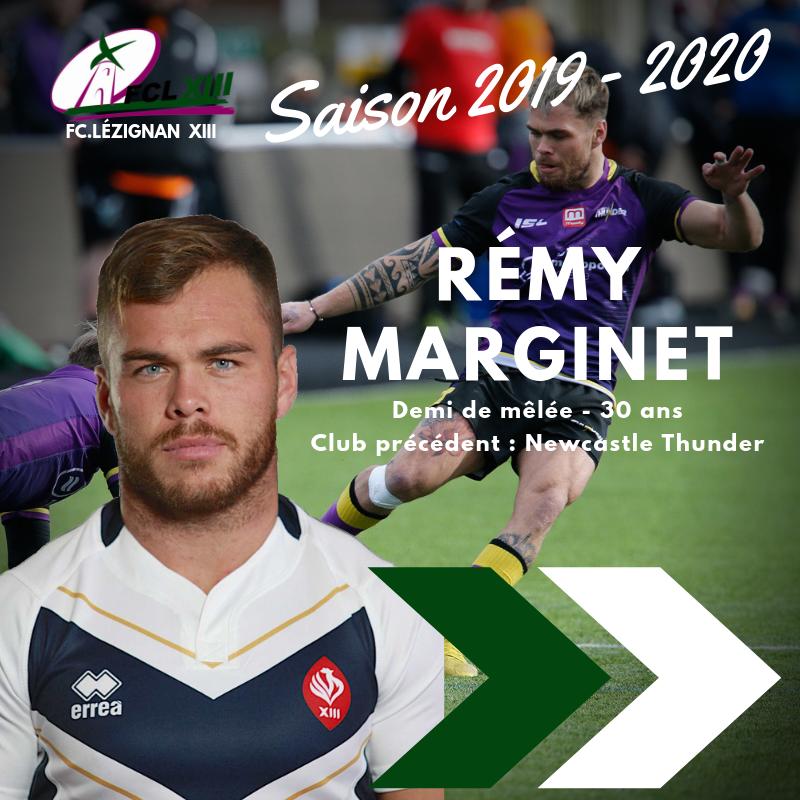 Rémy Marginet - fcl xiii - rugby à xiii lézignan corbières aude occitanie