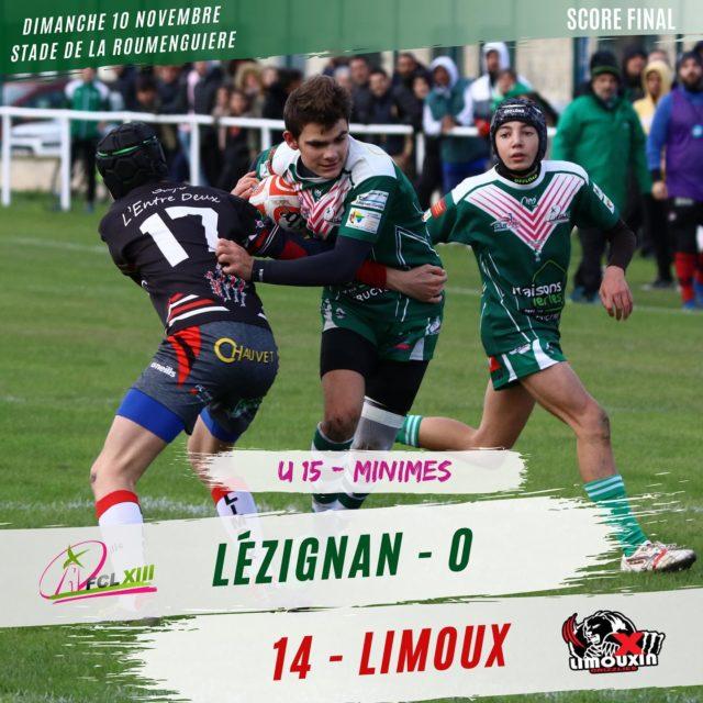 U15 FC.Lezignan vs Limoux